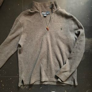 Polo Quarter Zip Pullover - NWOT
